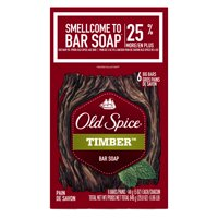 Old Spice Fresher Collection Timber Scent Men's Bar Soap 6 Bar 5 oz