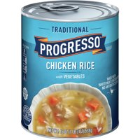 Progresso Soup Chicken Rice with Vegetables Soup Gluten Free 19 oz