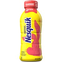 NESQUIK Strawberry Lowfat Milk 14 fl. oz. Bottle