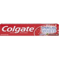 Colgate Sparkling White Whitening Toothpaste, Cinnamint - 6.0 Ounce