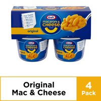 Kraft Easy Mac Original Flavor Macaroni and Cheese, 4 ct - 8.2 oz Package