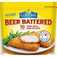 Gorton's Beer Battered Fish Fillets - 18.2oz