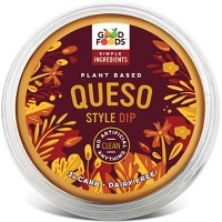 Good Foods Queso Style Dip - 8oz
