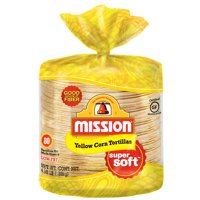 Mission Yellow Corn Tortillas, 80 Count
