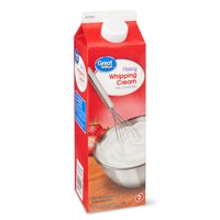 Great Value Ultra-Pasteurized Real Heavy Whipping Cream, 32 Oz