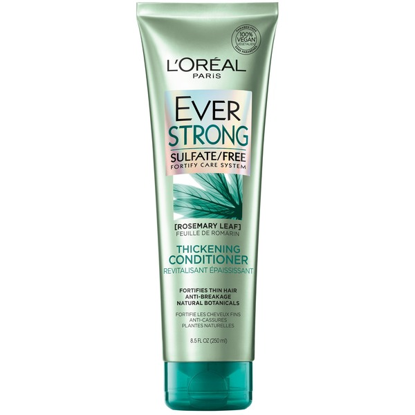 L'Oreal Paris Ever Strong Sulfate Free Fortify Care System Thickening Conditioner Rosemary Leaf