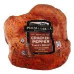 Prima Della Cracked Pepper Turkey Breast, Deli Sliced