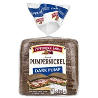 Pepperidge Farm Jewish Pumpernickel Dark Pump Bread, 16 oz. Bag