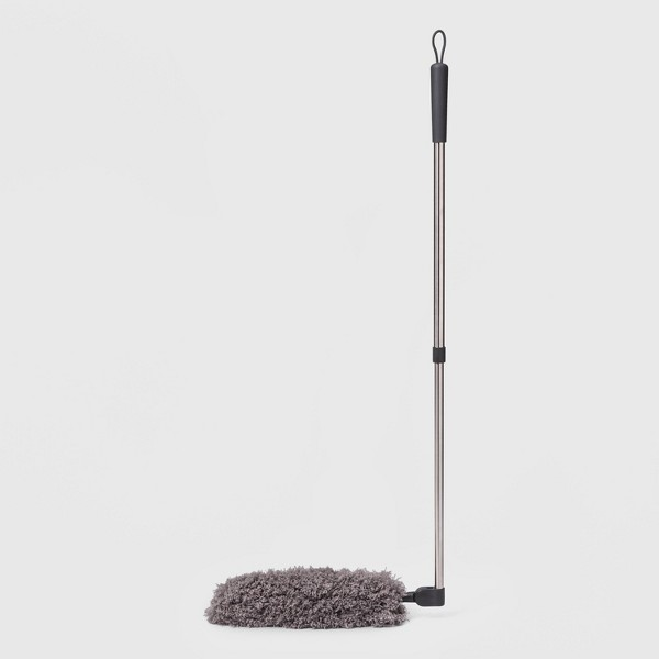 """Swivel-Head Dust Wand with Telescoping Pole - 55"""" - Made By Design™"""