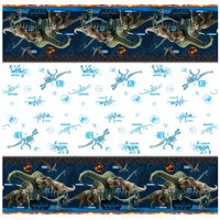Jurassic World Plastic Tablecloth, 84 x 54 in, 1ct