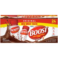 Boost Original Complete Nutritional Drink, Rich Chocolate, 8 Fl Oz, 24 Ct