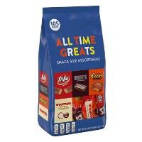 Hershey's All-Time Greats Snack-Size Chocolates Variety Pack - 39.9oz