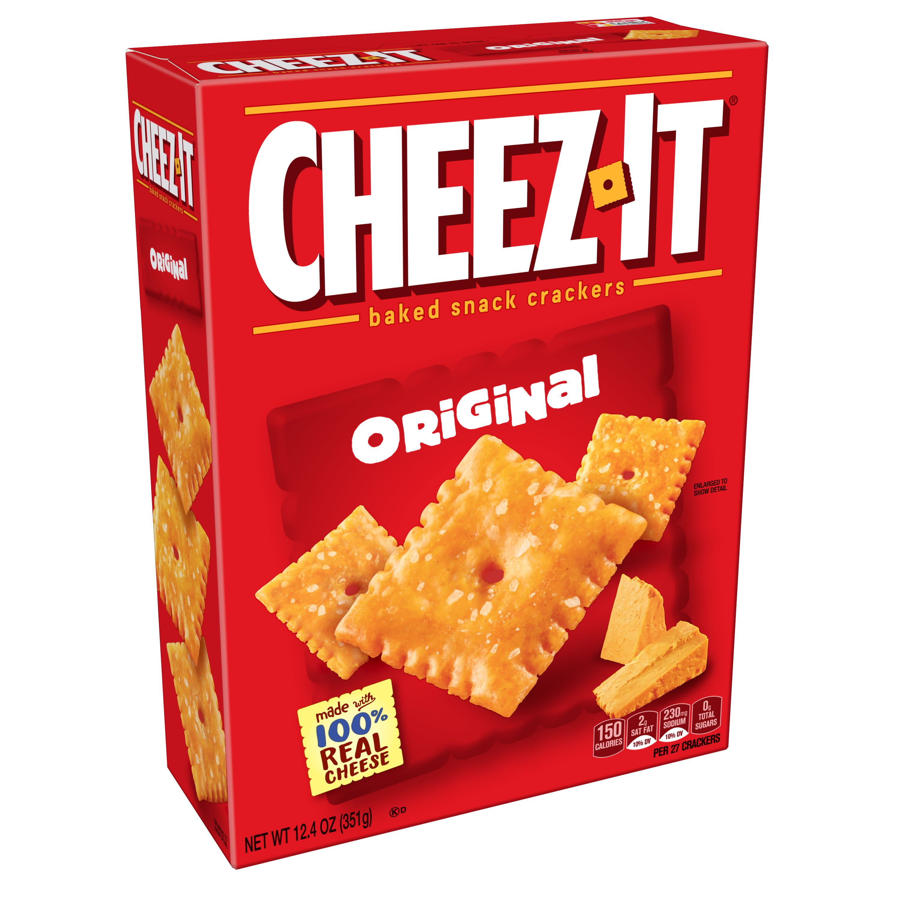 Cheez-It Original Baked Cheese Crackers - 12.4 Oz Box