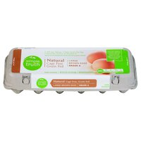 Simple Truth Large Brown Cage Free Grade A Eggs