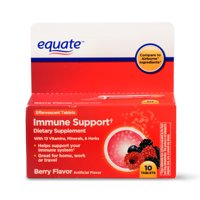 Equate Immune Support Dietary Supplement, Berry, 10 Count