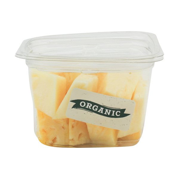Whole foods market™ Organic Pineapple Chunks