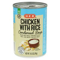 H-E-B Select Ingredients Healthy Chicken & Rice Soup