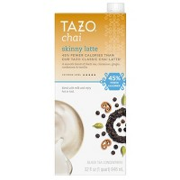 Tazo Skinny Latte Chai Black Tea - 32 fl oz