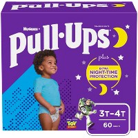 Huggies Pull Ups Nighttime Boys' Training Pants Super Pack - (Select Size)