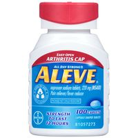 Aleve Pain Reliever/Fever Reducer, 220 mg, Caplets