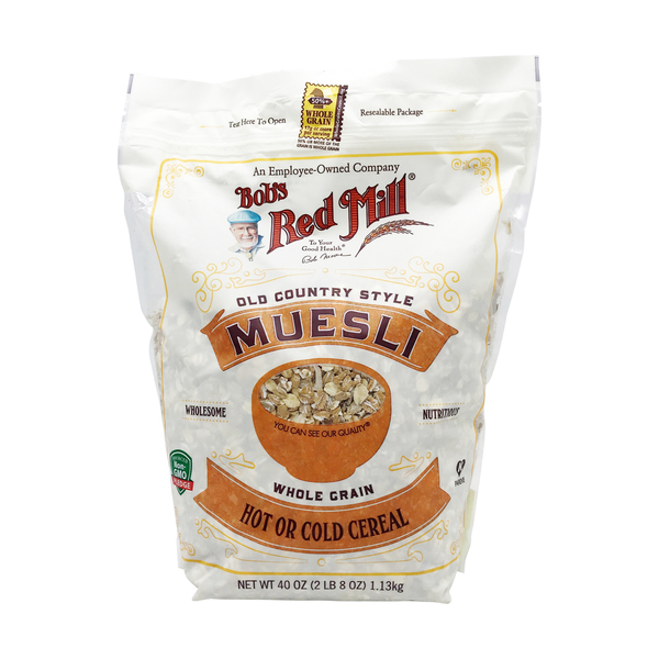 Bob's red mill Old Country Style Whole Grain Muesli, 40 oz