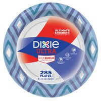 """Dixie Paper Plate, 8 1/2"""", 285 ct"""