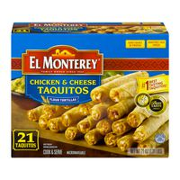El Monterey Taquitos Chicken & Cheese