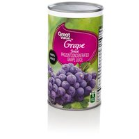 Great Value Frozen Grape Juice, 12 fl oz
