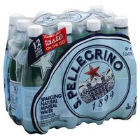 San Pellegrino Sparkling Water, Natural Mineral