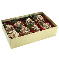 H-E-B Gourmet Chocolate Dipped Strawberries With Sliced Almonds