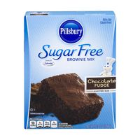 Pillsbury Moist Supreme Sugar Free Brownie Mix Chocolate Fudge
