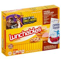 Lunchables Ham & American with Capri Sun Convenience Meal
