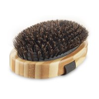 Vibrant Life Bamboo Large Palm Bristle Brush