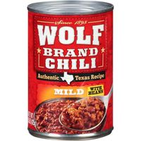 Wolf Mild Chili With Beans