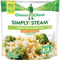 Green Giant Lightly Sauced Cheesy Rice & Broccoli
