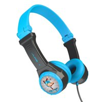 JLab Audio JBuddies Kids - folding, Volume Limiting Headphones, GUARANTEED FOR LIFE - Gray / Blue