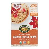 Nature's Path Gluten Free Brown Sugar Maple Instant Oatmeal - 11.3oz