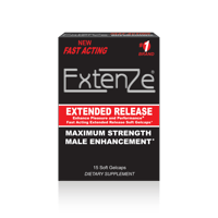 Extenze Male Enhancement Extended Release Soft Gelcaps, 15 Count