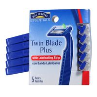Hill Country Fare Twin Blade Plus With Lubricating Strip Disposable Razors