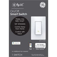 GE (C by GE) Smart Wall On/Off Switch Paddle 1pk