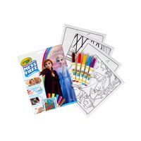 Color Wonder Mess Free Frozen 2 Coloring Set, 18 Pieces, Gift for Kids