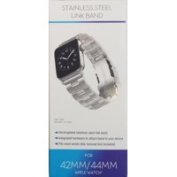 Apple Watch 42mm & 44mm Stainless Steel Link Band, Silver