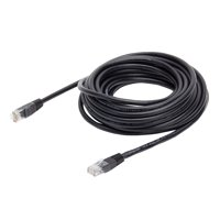 Onn Cat 6 Ethernet Patch Internet Cable, 14', Black