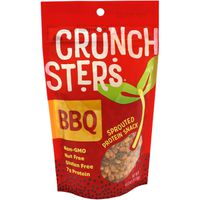 Crunchsters Protein Snack, Spouted, Barbeque