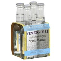 Fever-Tree Premium Natural Mixers Naturally Light Tonic Water, 4 pack, 200  mL