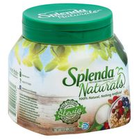 SPLENDA® Naturals Stevia Sweetener Tabletop Jar | Spoonable Sugar-Free, No Calorie Stevia Blend