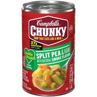 Campbell's® Chunky® Healthy Request® Campbell's® Chunky® Soup, Healthy Request® Split Pea & Ham with Natural Smoke Flavor Soup