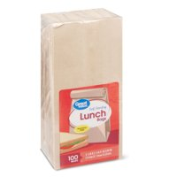Great Value Self-Standing Lunch Bags, Brown, 100 Count