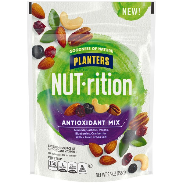 Planters NUT-rition Antioxidant Deluxe Nut Mix - 5.5oz