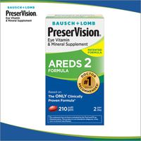 Bausch & Lomb Preservision AREDS2 Softgels, 210 ct